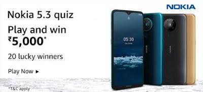 Amazon Nokia 5.3 Quiz