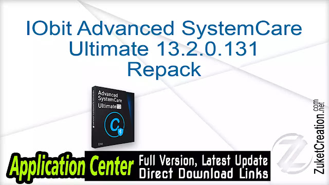 IObit Advanced SystemCare Ultimate 13.2.0.131 Repack