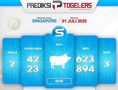 Prediksi Togelers Togel Singapura Rabu 01 Juli 2020