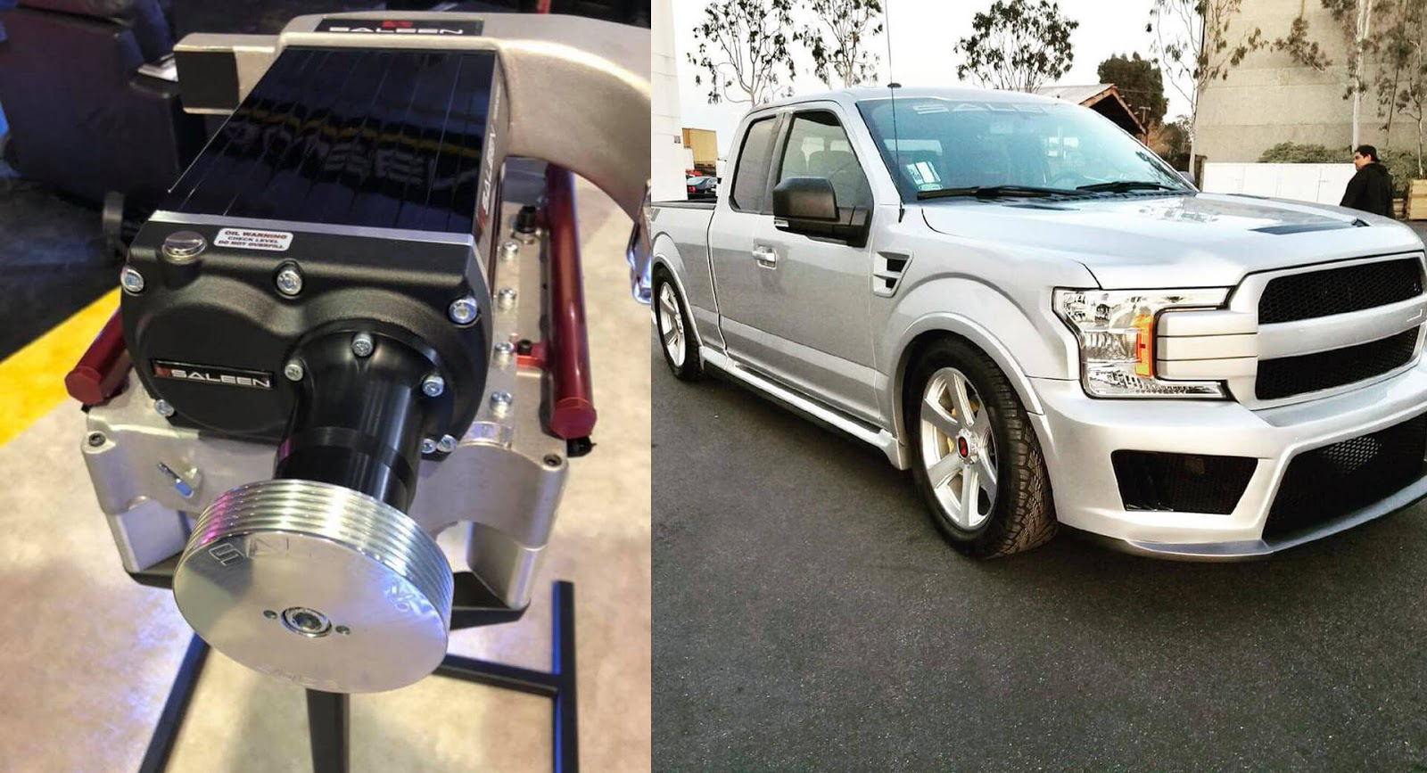 supercharged saleen sport truck introduced with 700 hp car news. Black Bedroom Furniture Sets. Home Design Ideas