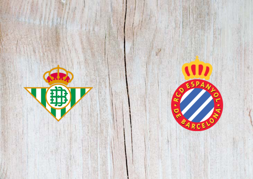 Real Betis vs Espanyol -Highlights 25 June 2020