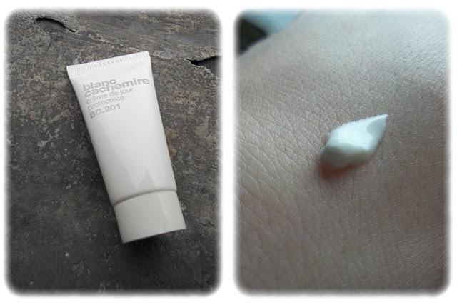 Crème de jour protectrice - Blanc Cachemire Birchbox Juin 2013