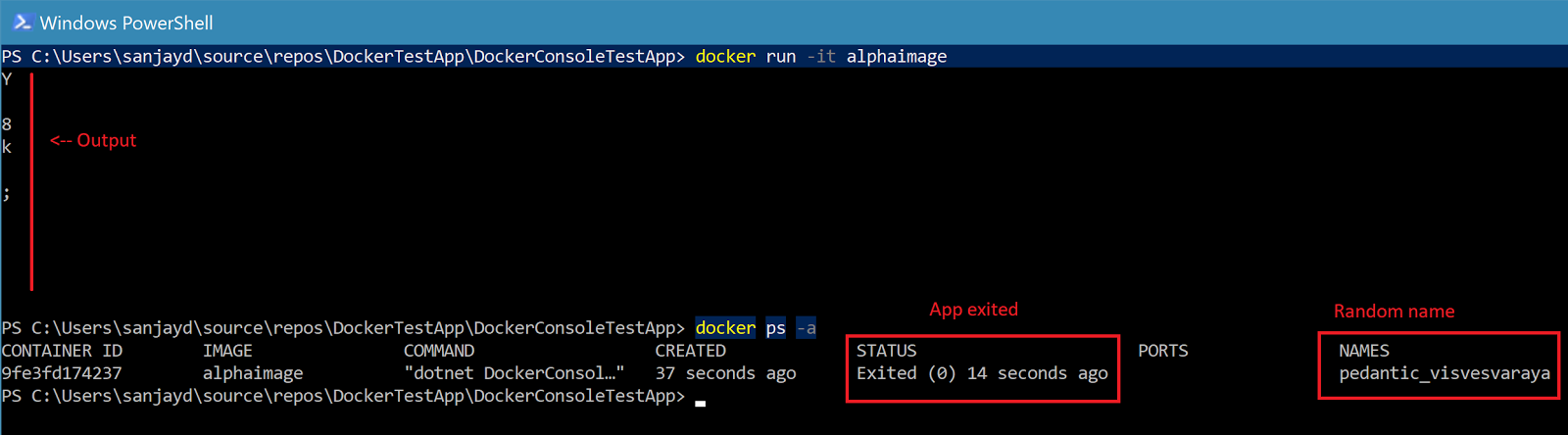 Getting Started With Docker For Windows - Containerize a C#