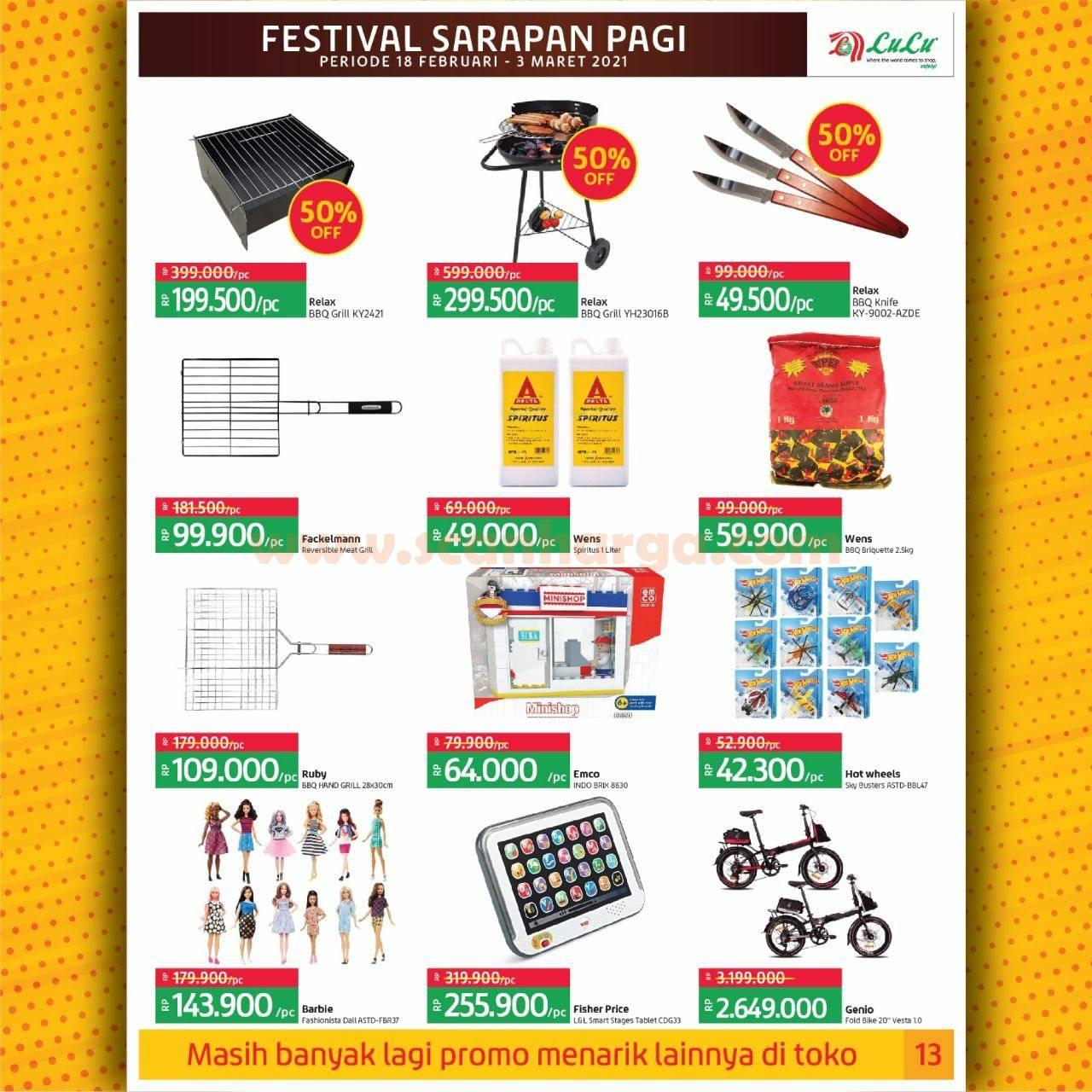 Katalog Promo LULU Supermarket 18 Februari - 3 Maret 2021 13