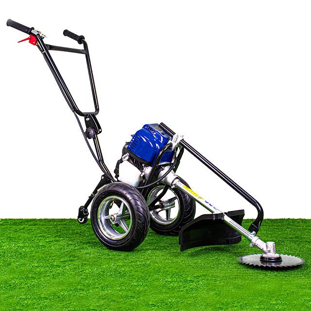เครื่องตัดหญ้ารถเข็น 4 จังหวะ 1.9 แรงม้า (ปุ่มสตาร์ท)