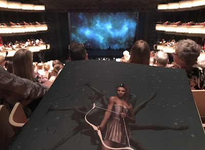 Pre-performance photo of Sylvia at the Sydney Opera House with programme