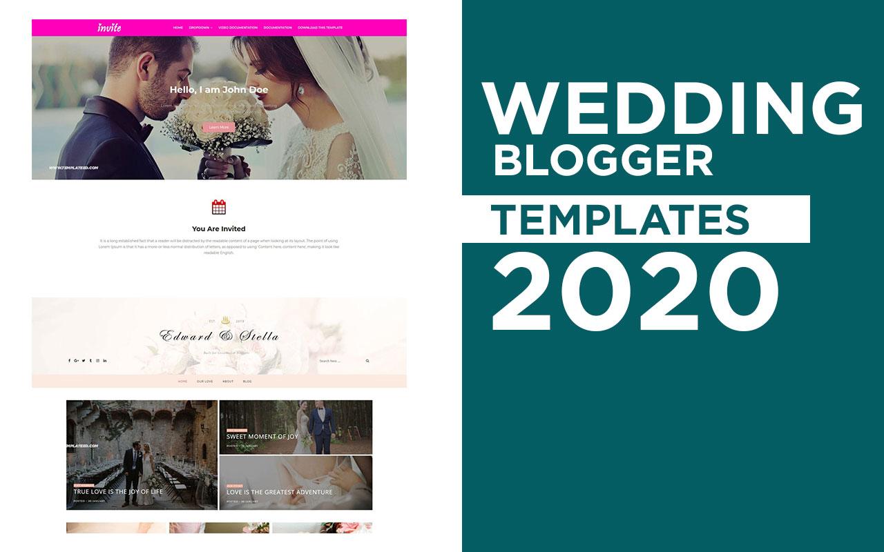 Wedding Blogger Templates
