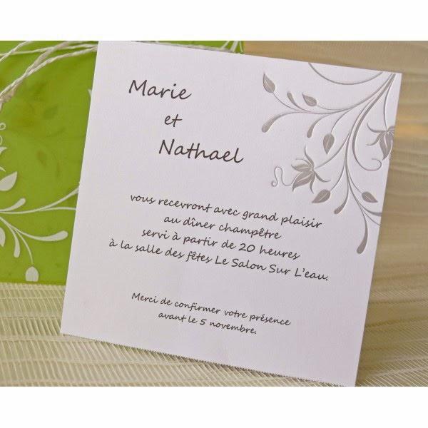 carte invitation repas mariage invitation mariage carte mariage texte mariage cadeau mariage. Black Bedroom Furniture Sets. Home Design Ideas