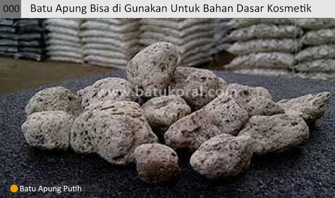 Batu apung untuk industri