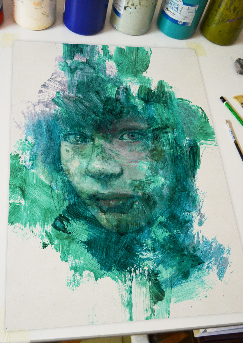 Portrait 391 Goddess of the sea