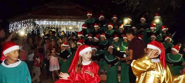 Mato Rico: Abertura do Natal no Parque do Gamelão