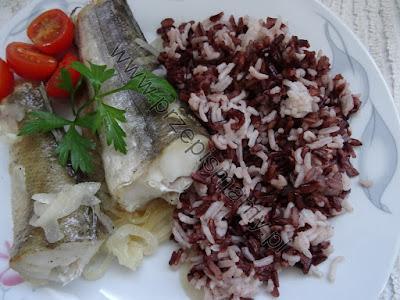 Ryba zapiekana z ryżem
