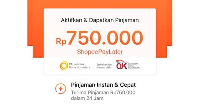 Beli Token Listrik dengan Shopee PayLater
