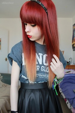 cut bangs at home tagliare frangia a casa zairadurso instagram fashion blogger fashion's obsessions tumblr