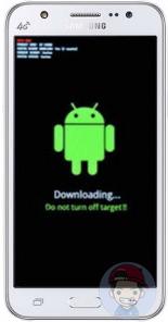 Cara Ampuh Flashing Samsung Galaxy J5 (SM-J500G)
