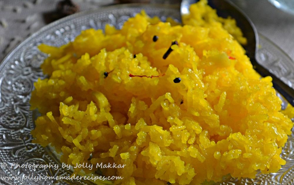Saffron Sweet Rice