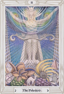 Opening of the Key Tarot Divination: Priestess II Thoth Tarot