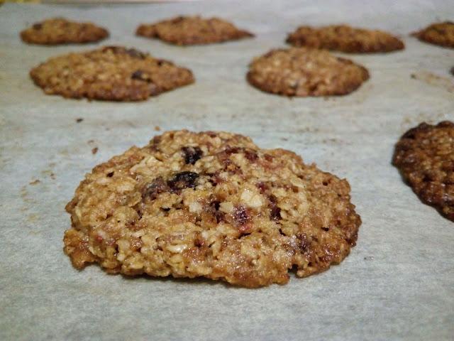 postres, desayunos, avena, galletas, galletas de avena, sin gluten, RECETAS SIN GLUTEN, porridge, arándanos, fácil