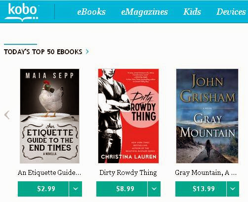 Maia Sepp: Kobo Has An Awesome 35% off Sale Right Now
