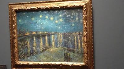 one of my favorite painting ever at the Orlay Museum- Van Gogh