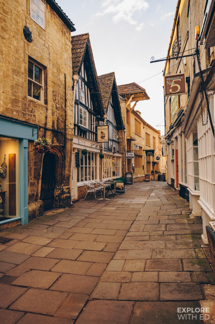 The Shambles in Bradford-on-Avon