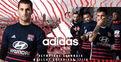 Olympique Lyon 17-18 Away Kit Released f53c21faa