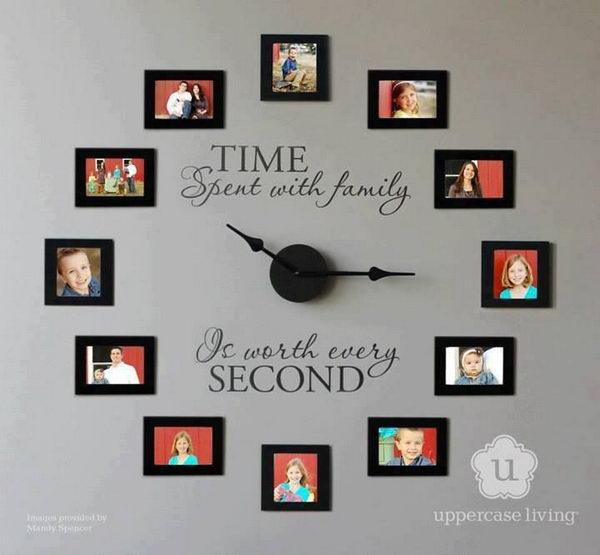 creative handmade photo framing art