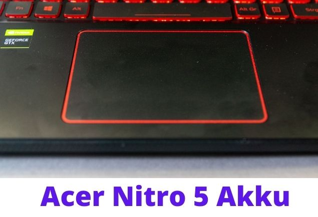 Acer Battery area