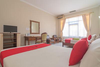 tipe kamar twin room hotel surya batulicin