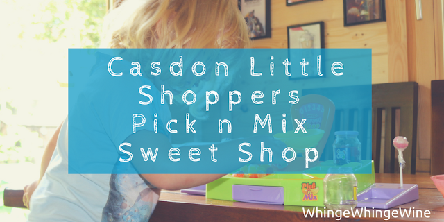 Encouraging imaginative play: A review of the Casdon Little Shoppers Pick n Mix Sweet Shop by my three year old