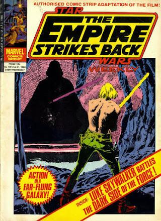 Empire Strikes Back Weekly #130, Darth Vader and Luke Skywalker