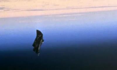 Avvistamento UFO: questa foto della NASA è creduta da alcuni a mostrare il satellite Black Knight