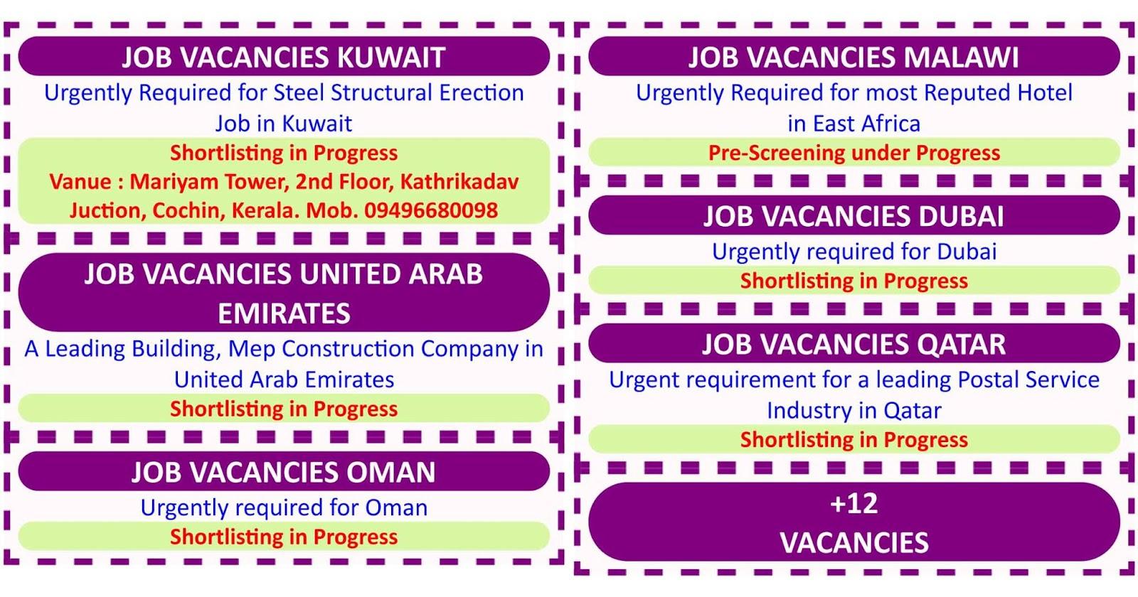 Jobs In Kuwait Free Visa