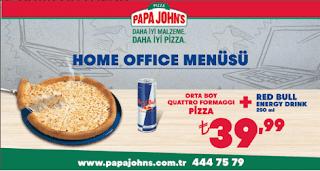 papa john's menü fiyat listesi kampanya ve şubeleri home office menüsü