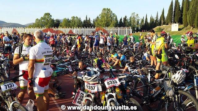 Salida 101 km La Legión de Ronda 2014