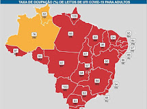 UTI ACIMA DE 90% - 17 Estados e DF registram ocupação alarmante, aponta Fiocruz