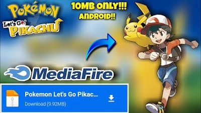 Pokemon Let's Go Pikachu Mobile Apk