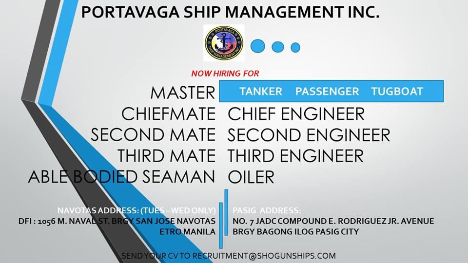 Hiring Crew For Tanker, Tugboat, Passenger Ships - Seaman