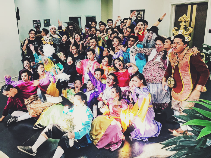 Belle: The Musical by Relentless Entertainment Brunei at JIS Art Centre, Cast and Crew group photo, Brunei Blogger, May Cho, Beauty and the Beast