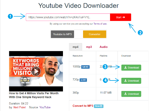 Solusi Tidak ada Video 720p di Saveform.net