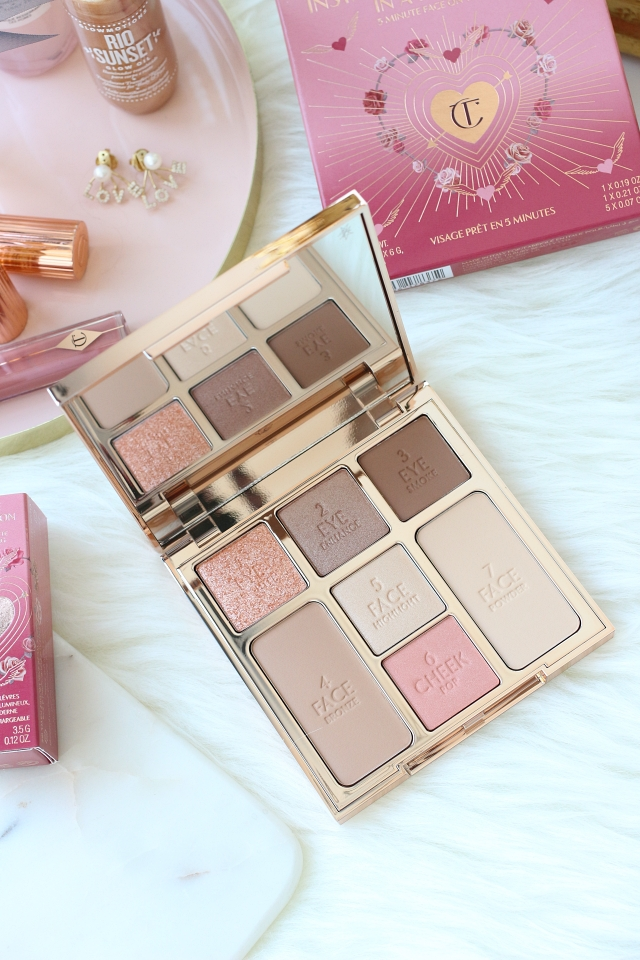 Charlotte Tilbury Look of Love: Pretty Blushed Beauty