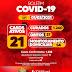 Jaguarari registra 02 novos casos de Covid-19 no Boletim desta segunda-feira (01)