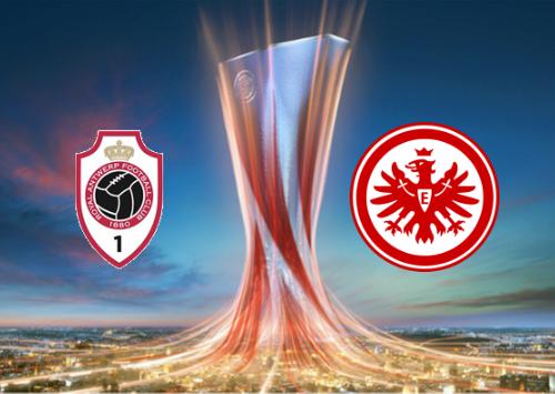 Antwerp vs Eintracht Frankfurt Highlights 30 September 2021