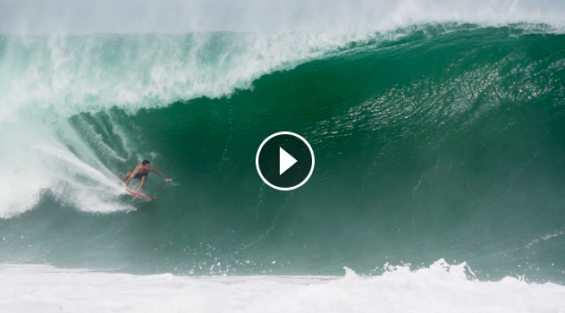 Surfing GIANT Puerto Escondido with Lucas Chumbo July 2021
