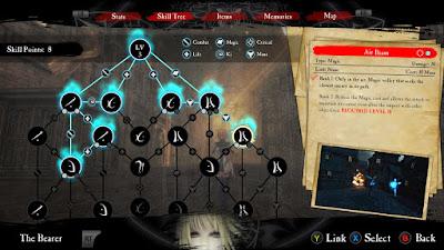 gameplay RPG anima gate of memories
