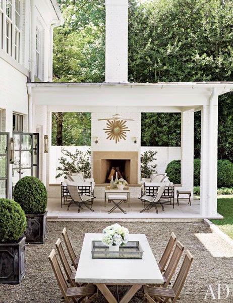 Suzanne Kasler outdoor space