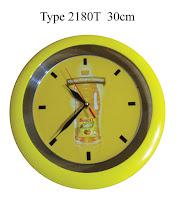 Jam Dinding Promosi bahan Plastik, Jam Dinding Promosi Murah