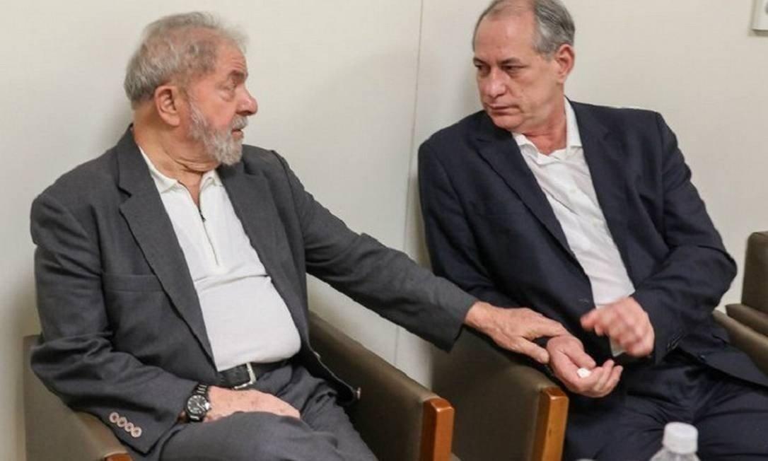 Lula e Ciro Gomes selam a paz em SP depois de rompimento na eleição de 2018