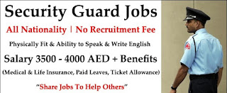 Security Guard Required in Dubai | Good Salary, Free Visa, Food and Accommodation |  Any Nationality Can Apply