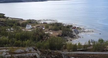 Εντυπωσιακή ολίσθηση λάσπης στη Νορβηγία - Video